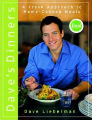 Buy the Dave's Dinners cookbook