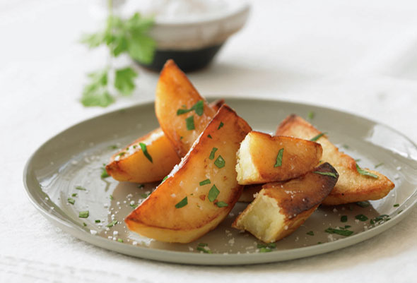 Duck Fat-Cooked Fries