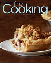 Fine Cooking cookbook