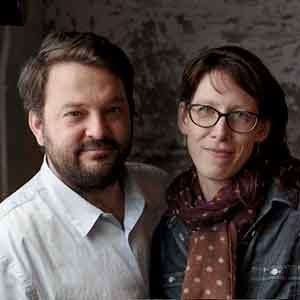 Stuart Brioza and Nicole Krasinski