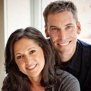Dawn Casale and David Crofton