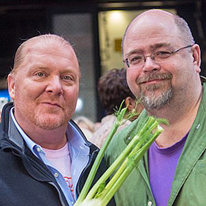 Mario Batali and Jim Webster