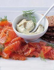 Gravadlax with Sweet Mustard