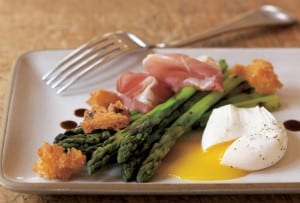 Grilled Asparagus with Prosciutto