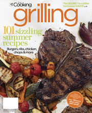 Fine Cooking Grilling: 101 Sizzling Summer Recipes cookbook