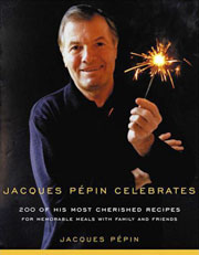 Buy the Jacques Pépin Celebrates cookbook