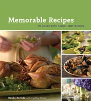Buy the Memorable Recipes cookbook