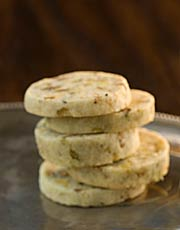 Pistachio-Orange-Cocktail Cookies