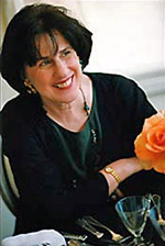 Paula Wolfert with a Flower