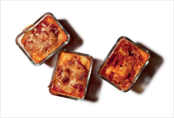 Personal Pan Lasagna