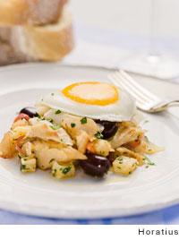 Portuguese Salt Cod Hash