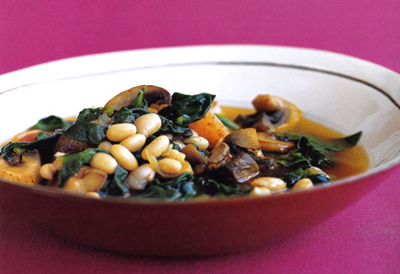 Quick Navy Bean Stew