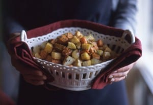 Roasted Caramelized Root Vegetables