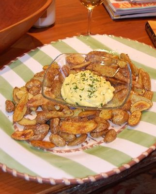 Roasted Fingerling Potatoes by David Tomberlin