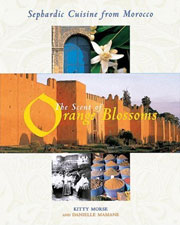 Buy the The Scent of Orange Blossoms: Sephardic Cuisine from Morocco cookbook