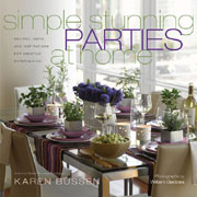 Buy the Simple Stunning Parties at Home cookbook