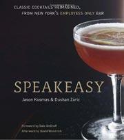 Buy the Speakeasy cookbook