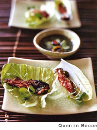 Thai-Style Sliced-Beef Lettuce Wraps Recipe