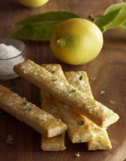 Thyme, Lemon and Sea Salt Shortbread