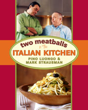 Buy the Two Meatballs in the Italian Kitchen cookbook