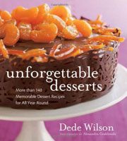 Buy the Unforgettable Desserts cookbook