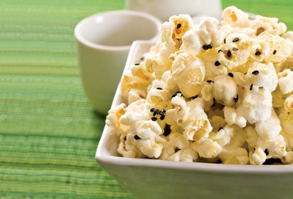 Wasabi-Ginger Popcorn