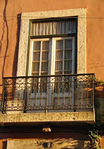Window in Lisbon